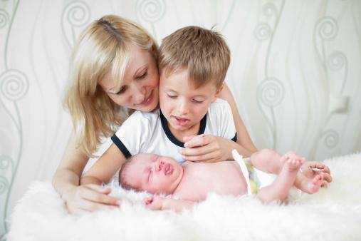 Allaiter son deuxième bébé