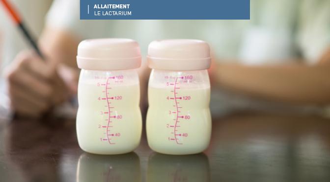 Moi dans la vie, je collecte le lait maternel