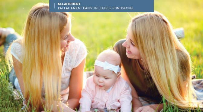 L'allaitement au sein du couple homosexuel féminin