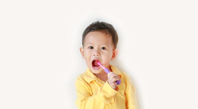 Caries précoces chez un jeune enfant allaité